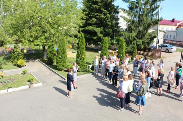 В Вороновском районе педагоги учреждений дошкольного образования Гродно изучали опыт работы