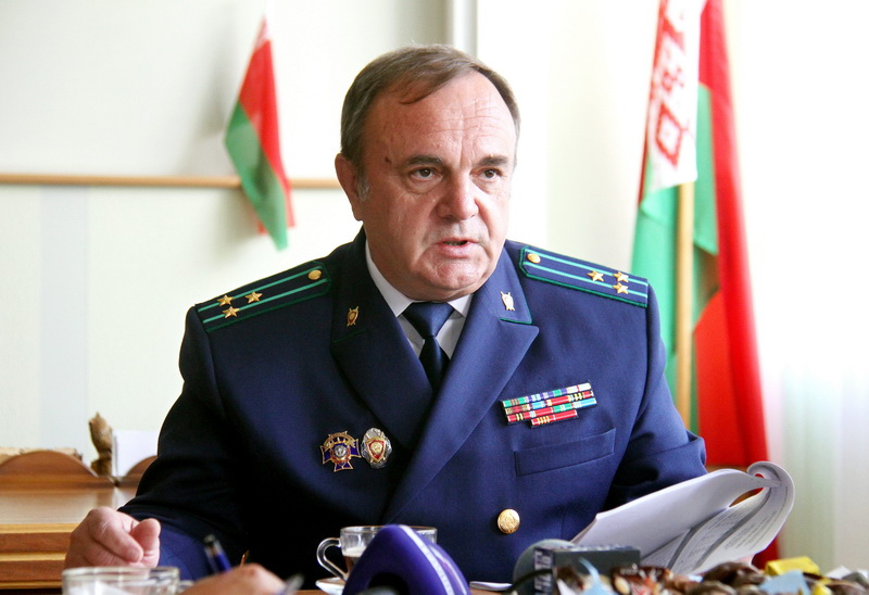 Прокурор Гродненской области Виктор Корзун о силе закона