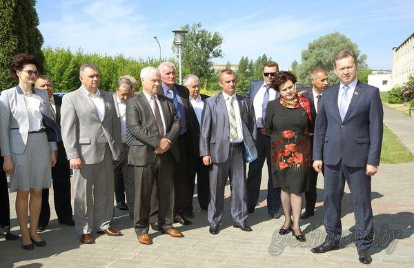 На сессии областного Совета депутатов в Гродно обсудили соблюдение природоохранного законодательства на территории области