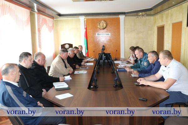 О пожарной безопасности культовых зданий шла речь на совещании в Вороновском районном исполнительном комитете