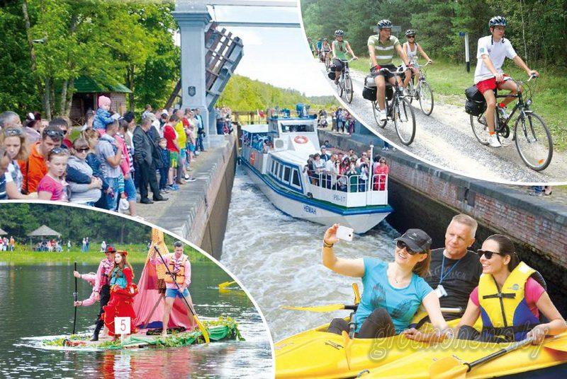 На Августовском канале впервые пройдет «Праздник моря»