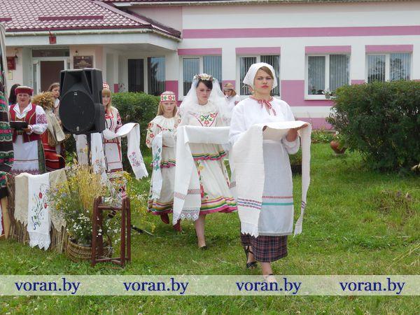 У Місявічах Воранаўскага раёна прайшло свята беларускага ручніка
