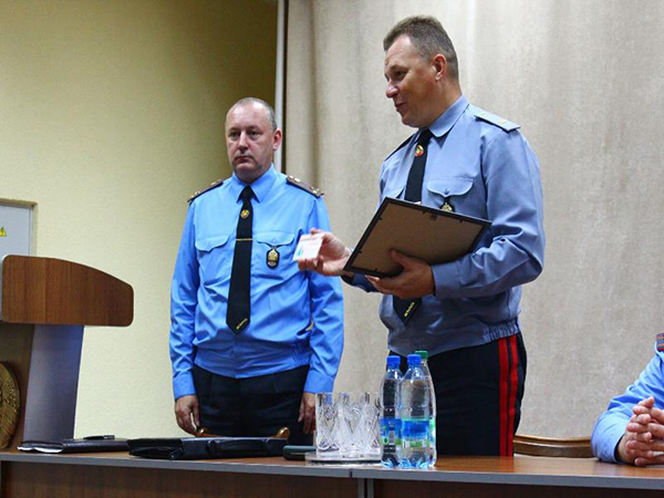 Назначен новый начальник Гродненской госавтоинспекции
