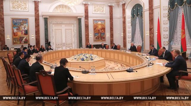 Лукашенко отмечает беспрецедентно высокий уровень партнерства между Беларусью и Китаем