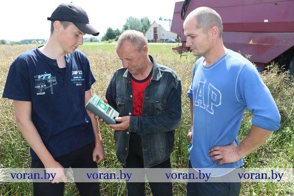 Уборочная кампания в Вороновском районе набирает темпы