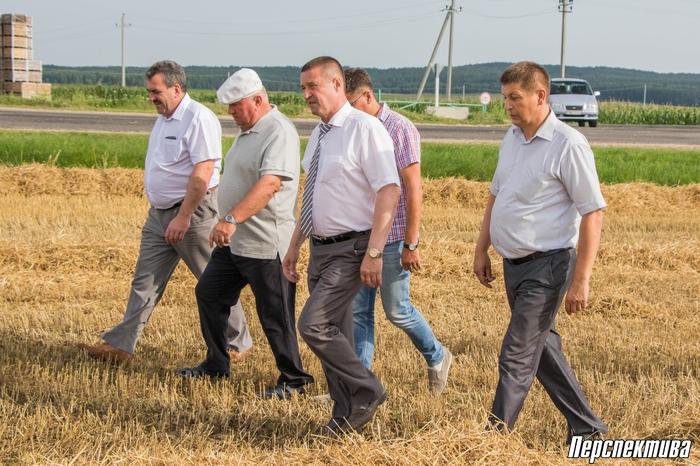 Министр сельского хозяйства и продовольствия Леонид Заяц совершил рабочую поездку по ряду хозяйств Берестовицкого и Гродненского районов