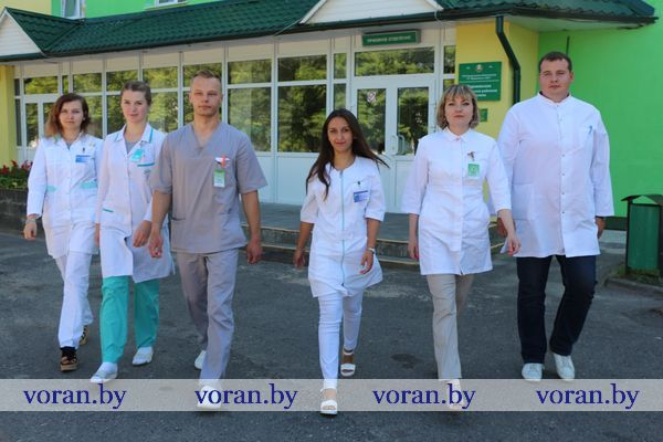 1 августа сфера здравоохранения Вороновщины приняла молодых специалистов