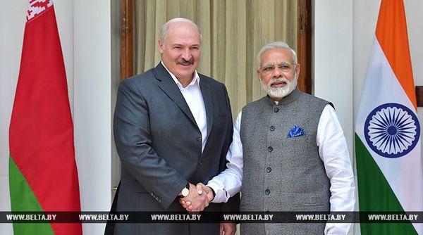 Лукашенко: Беларусь и Индия открывают новый этап сотрудничества