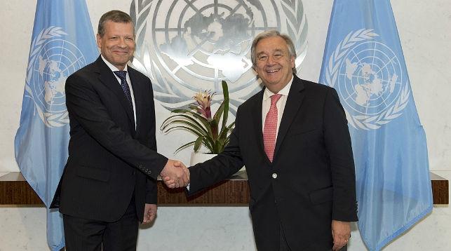 Генсек ООН подчеркивает особое место Беларуси в многосторонней дипломатии