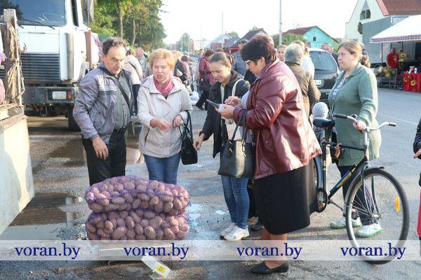 «Щедрая осень»: в Вороново прошла сельскохозяйственная ярмарка (Будет дополнено, фото)