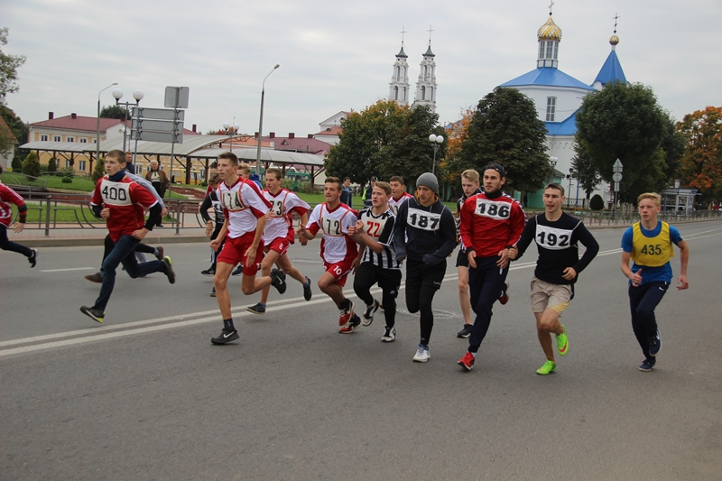 Фоторепортаж: фестиваль бега «Ошмянская пятерка»