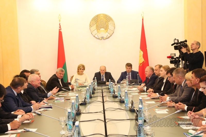 В Гродно встретили делегации участников выставки-ярмарки и форума «Еврорегион «Неман»