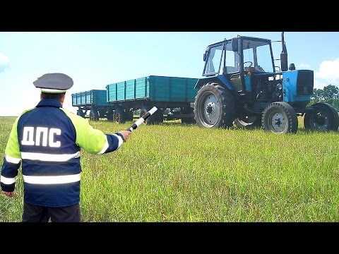 С 12 по 26 сентября в Гродненской области проходит декада «Внимание! Самоходные машины и трактора!»