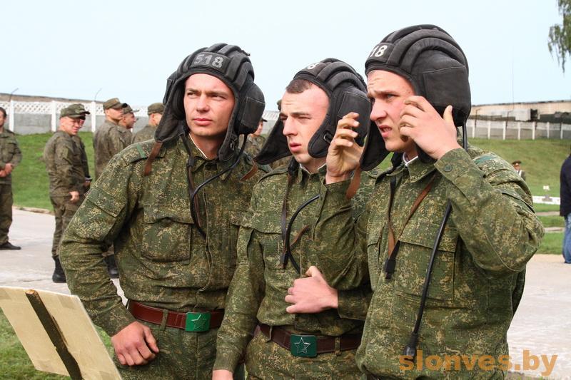 В Слониме танкисты состязались в мастерстве
