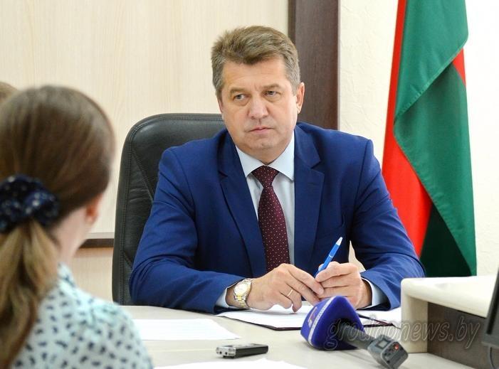Помощник Президента — инспектор по Гродненской области Сергей Ровнейко проведет прием граждан в Зельве 6 сентября