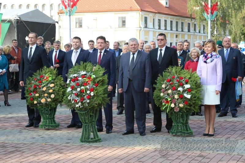 В Гродно празднуют 889-й День рождения города! (+Видео, обновляется)
