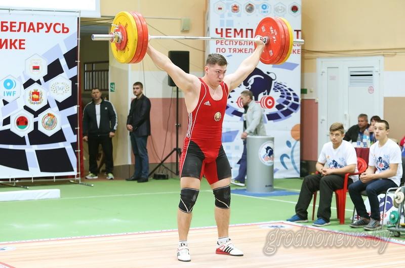 Самые сильные. В Гродно завершился чемпионат страны по тяжелой атлетике