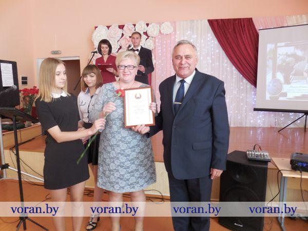 29 сентября День учителя педагоги района праздновали в Жирмунской средней школе