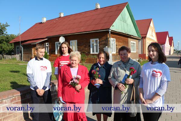 На Вороновщине проходят праздничные мероприятия в рамках декады «Золотой возраст», приуроченной ко Дню пожилых людей