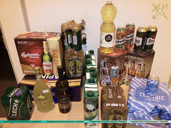 Более пяти литров алкоголя ввозить нельзя