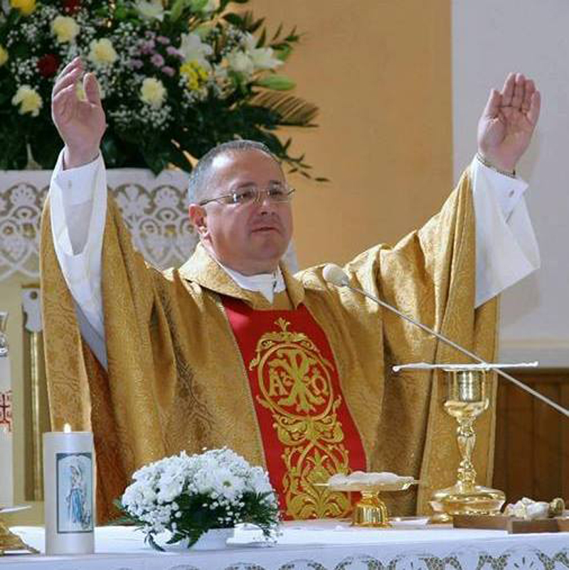 Назначен ксендз в Гервятском костеле