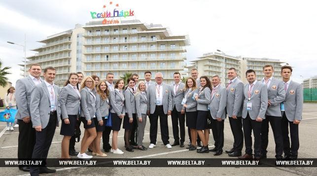 ФОТОРЕПОРТАЖ: В Сочи открылся XIX Всемирный фестиваль молодежи и студентов