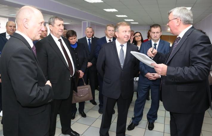 Премьер-министр Республики Беларусь Андрей Кобяков сегодня посетил Гродненскую область