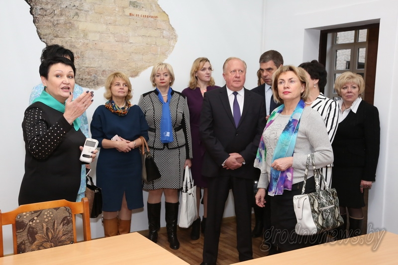 Женские инициативы. Участники выездного заседания президиума Белорусского союза женщин побывали в гуманитарном колледже