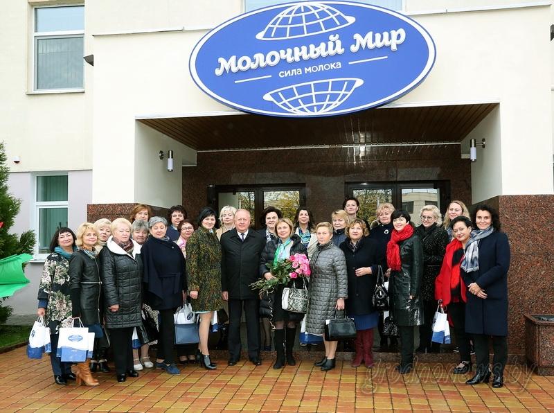 Женская тема объединяет. Участники выездного заведения ОО «Белорусский союз женщин» посетили ОАО «Молочный Мир» и Свято-Рождество-Богородичный ставропигиальный женский монастырь