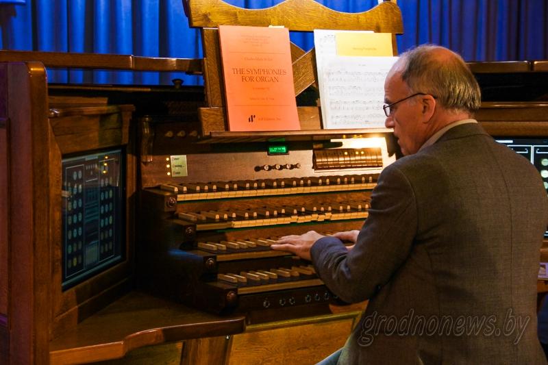 В Гродно вновь зазвучат органы Европы. С 19 октября по 23 ноября пройдет IV праздник органной музыки