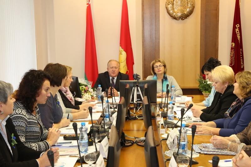 """Женщины дела. Опыт и будущее женского движения на повестке дня выездного заседания президиума ОО """"Белорусский союз женщин"""" в Гродно"""