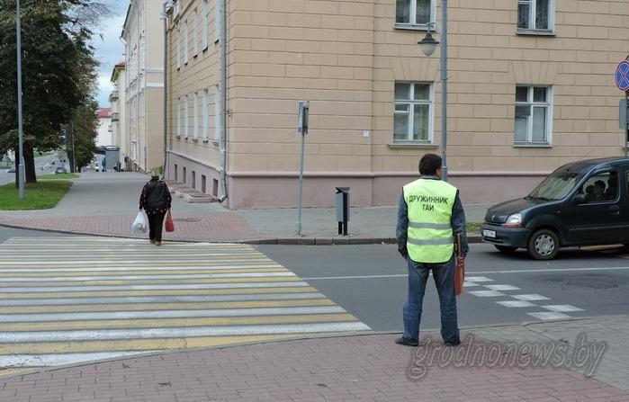 Стоп-мены: 25 дружин помогают сотрудникам Госавтоинспекции следить за порядком на гродненских дорогах