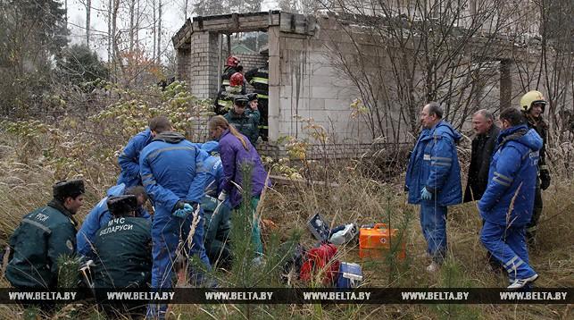 В Могилеве обрушилась кровля пустующего здания, погиб ребенок