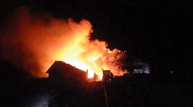 Причиной пожара в Могилевском районе могла стать непотушенная сигарета