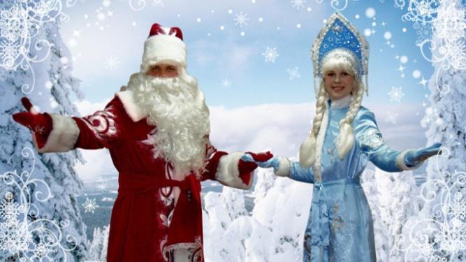 Дед Мороз и Снегурочка ждут вас на Августовском канале