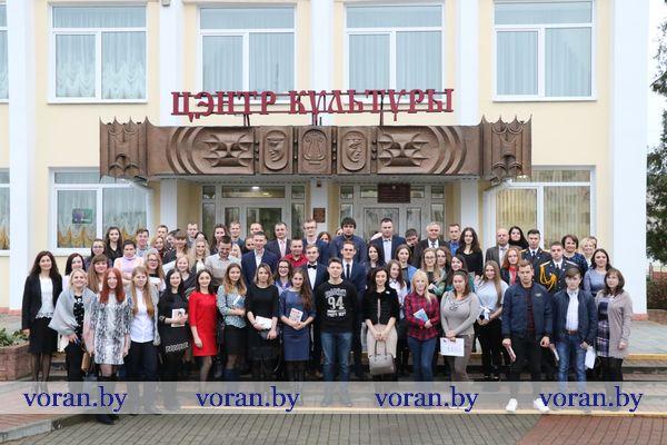В Вороново сегодня чествовали молодое кадровое пополнение района