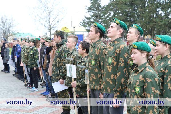В Дотишках соревновались юные друзья пограничников (Фото)