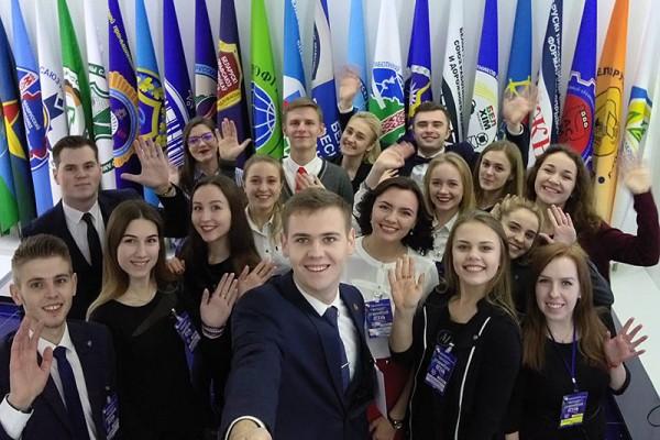 «Студенческая осень-2017». Молодежь Гродненщины принимает участие в республиканском профсоюзном форуме студенчества