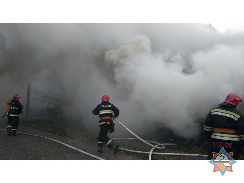 Неосторожность при курении стала причиной пожара в Гродненском районе