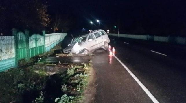 В Лидском районе водитель получил штраф, а через полчаса попал в ДТП