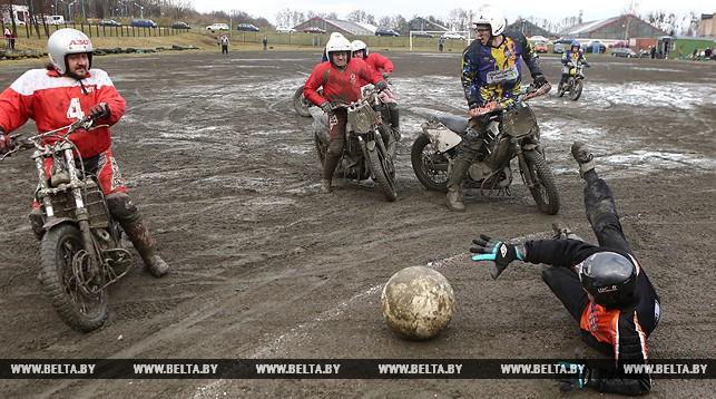 Фото: Турнир по мотоболу прошел в Гродно