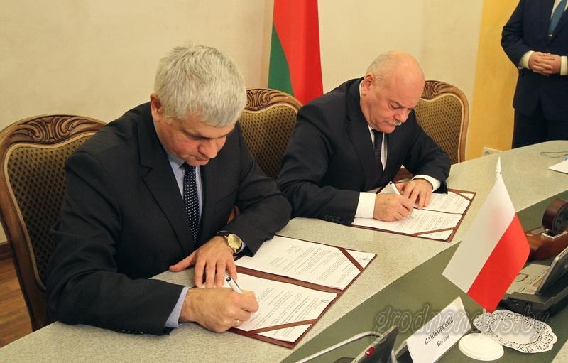 Приграничный интерес. В облисполкоме состоялось заседание белорусско-польской подкомиссии по делам приграничного сотрудничества