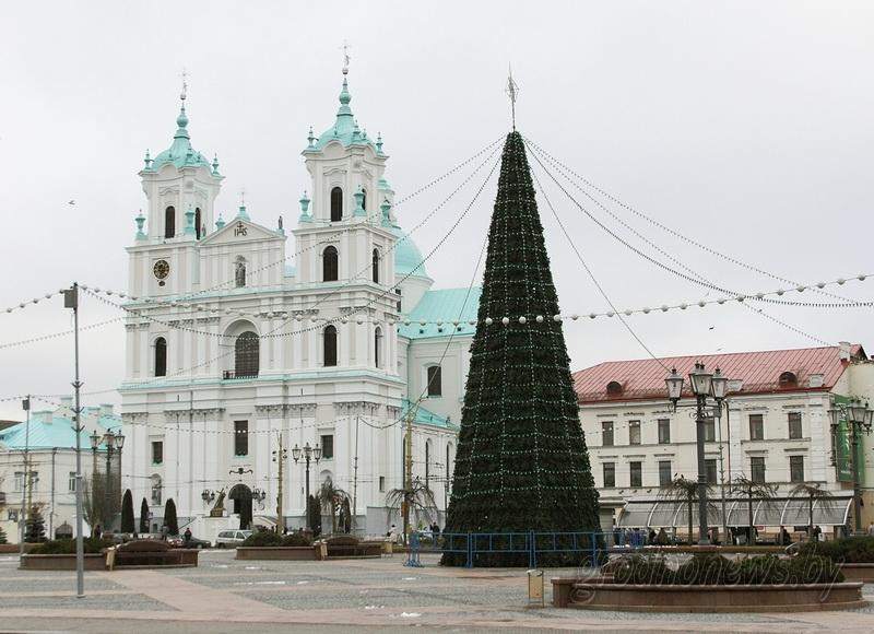 Новый год не за горами. Зеленые красавицы украсили главные площади города
