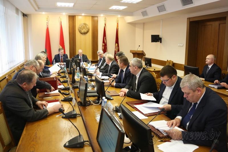 В Гродненской области образовано 60 окружных комиссий по выборам в областной Совет депутатов