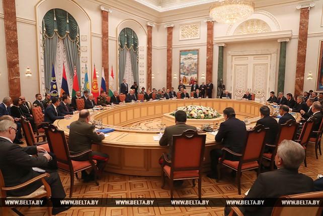 Тема недели: Саммит ОДКБ в Минске