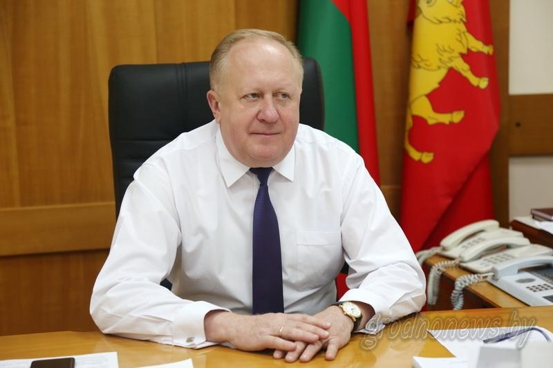 Виктор Лискович: «Каждый юный житель области почувствует тепло новогоднего праздника»