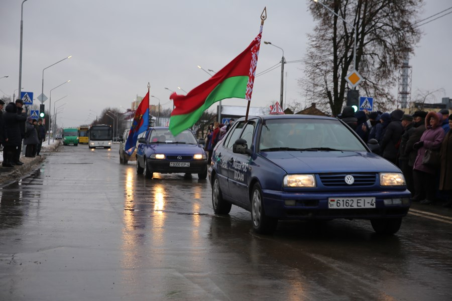 В Лиде открыли движение по улице Свердлова, но реконструкция будет продолжена