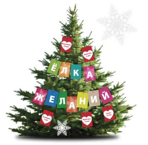 В ожидании рождественских и новогодних праздников 1 декабря стартовала ежегодная кампания Белорусского Общества Красного Креста «Елка желаний»