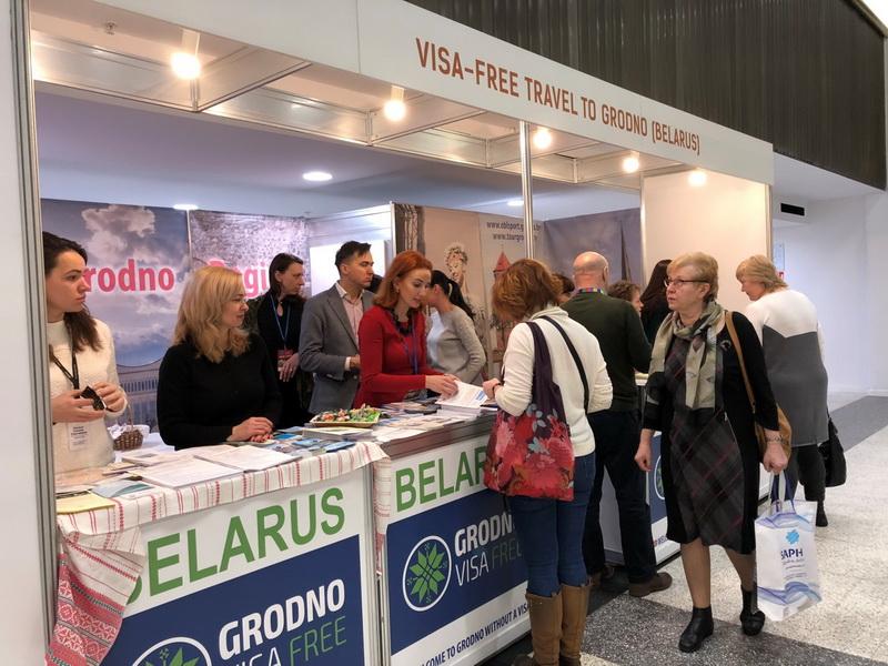 Туристический потенциал Гродненщины презентовали на международной выставке в Литве