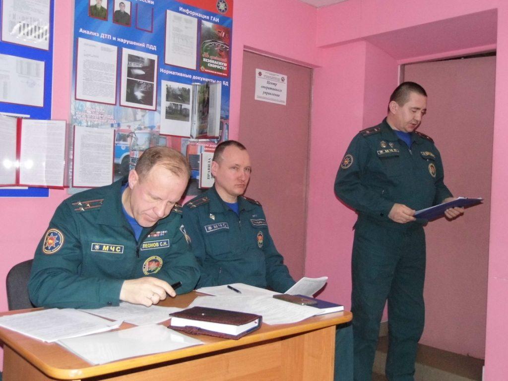 Спасатели Вороновщины подвели итоги работы за 2017 год